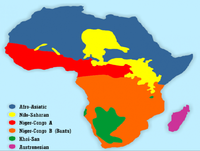 tribes language