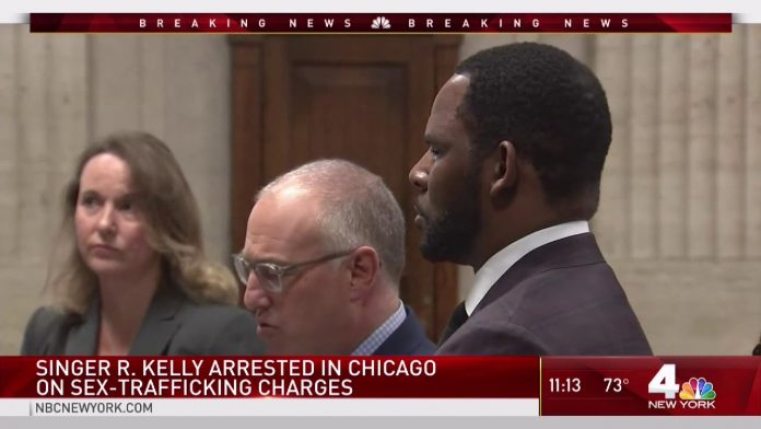 R Kelly Arrested By The NYPD in New York