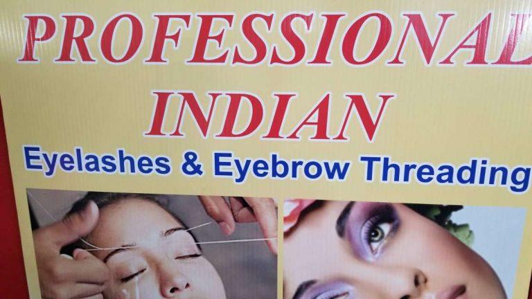 Lipp Professional Indian Eye Lashes and Eyebrow Threading