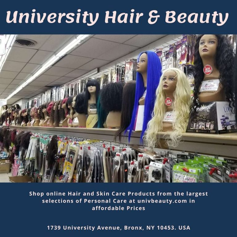 University Hair and Beauty Supply- Great Looks Start with Us