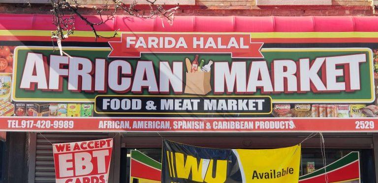 Farida Halal African Food and Meat Market