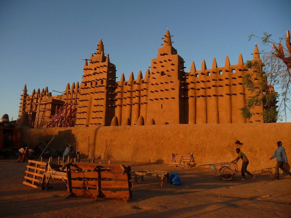 ancient djenne mosque