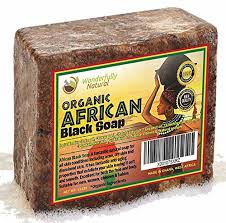 how to grow long healthy hair with African black soap