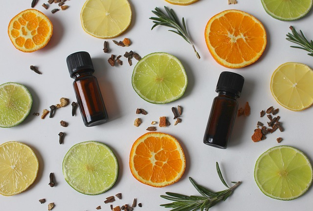 orange essential oil for natural beauty