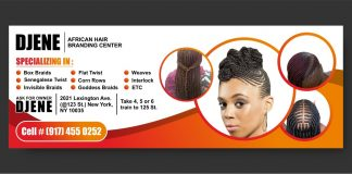 Djene African Hair Braiding- AfroGist Media