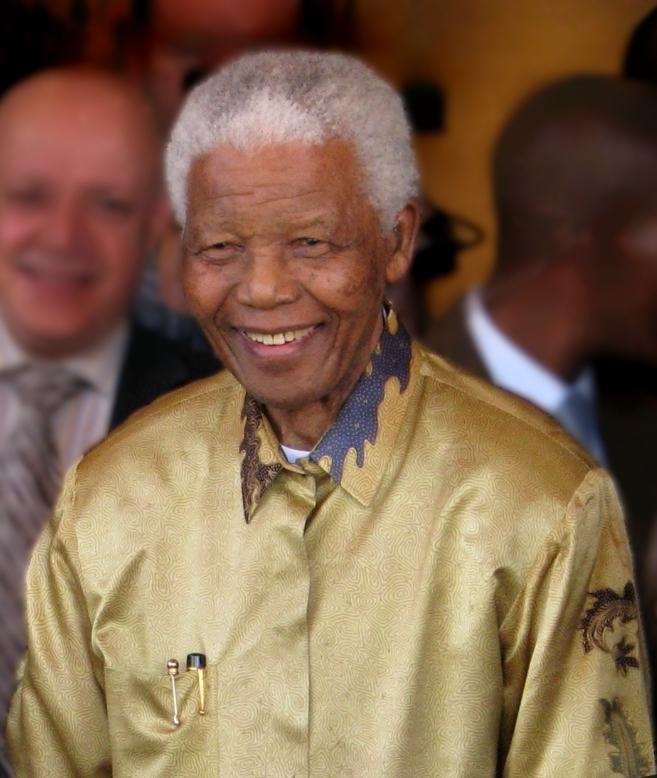 Nelson Mandela fashionable African president