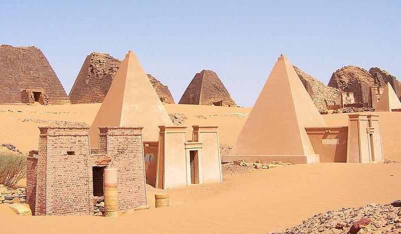 African wonder pyramids, Sudan