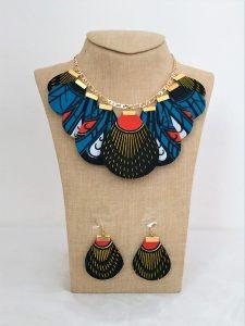 African fashion ankara jewelry