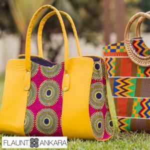 ankara handbags African fashion