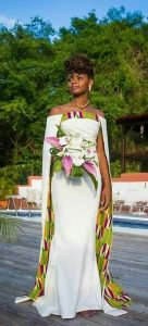 African fashion and design wedding dress