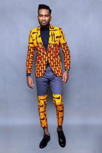 African print jacket fashion