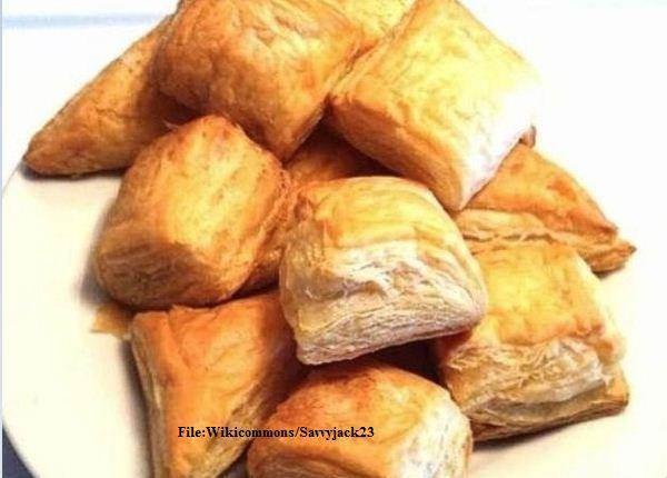 Chicken Pâté Puffs Recipe