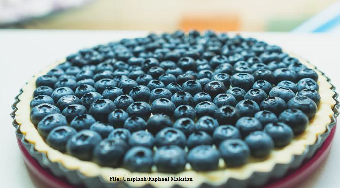 South African Grapes cake