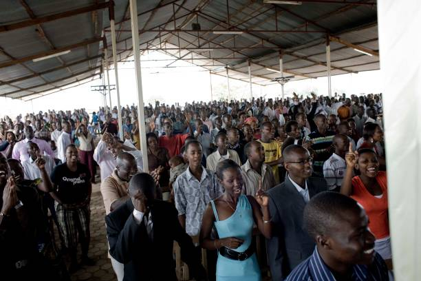 African Church congregation