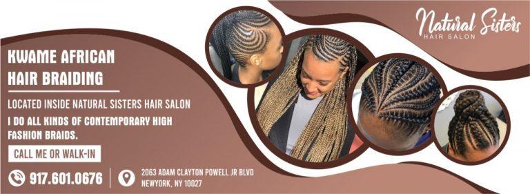 Kwamie African Hair Braiding