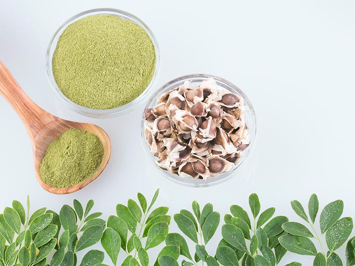 Moringa seed and leaves
