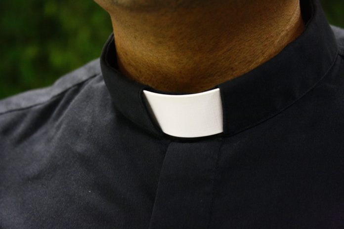 celibate priest